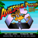 Awesome Possum Kicks Dr. Machino's Butt