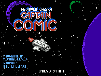 The Adventures of Captain Comic