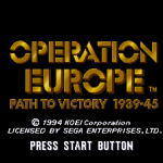 Operation Europe: Path to Victory 1939-45