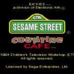 Sesame Street Counting Cafe