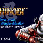 Shinobi 3 : Return of the Ninja Master