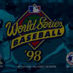 World Series Baseball 98